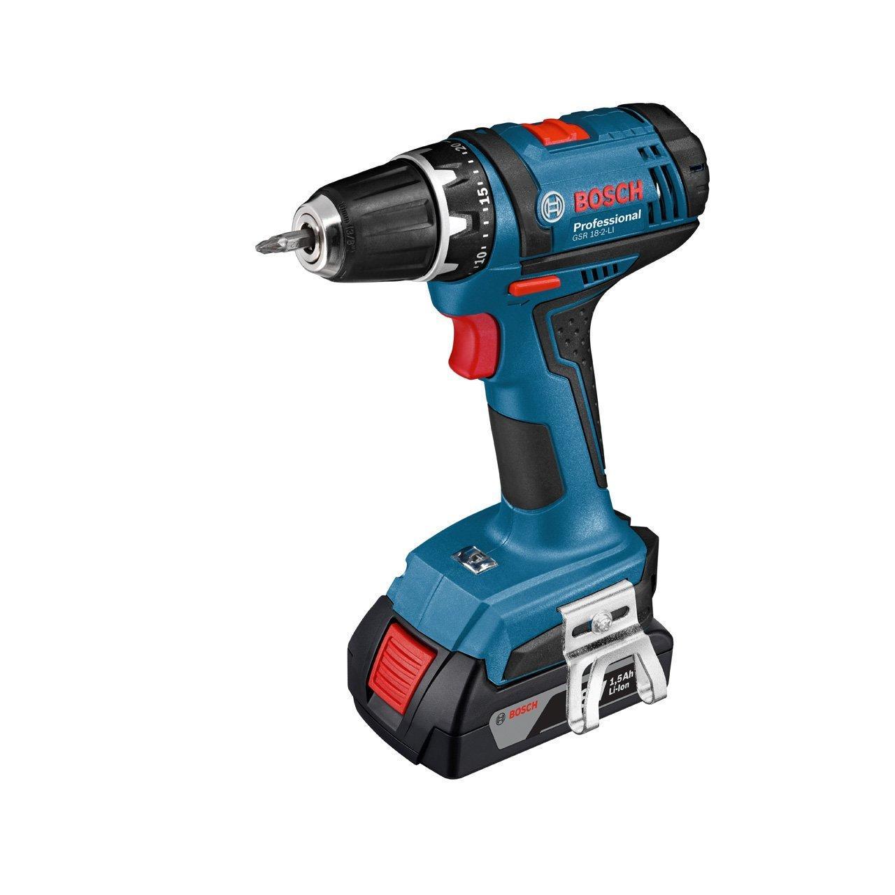 Perceuse-visseuse sans fil Bosch Professional 06019B7300 GSR 18-2-Li