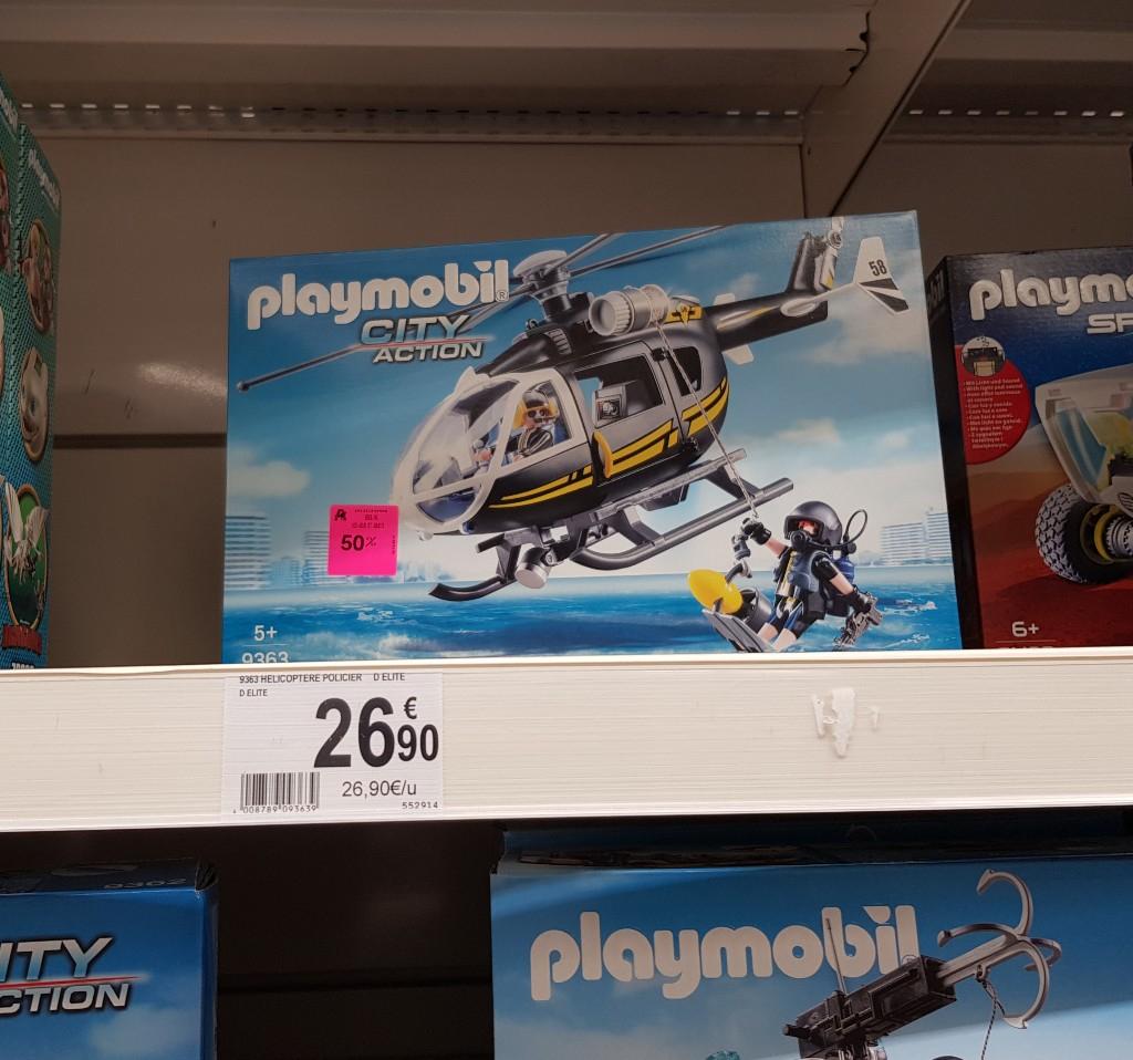 Jouet Playmobil Hélicoptère et policiers d'élite (9363) - Bouliac (33)