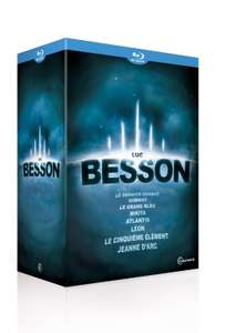 Coffret Blu-ray Luc Besson - 8 films