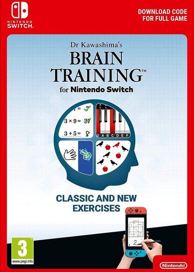 Programme d'entrainement cérébral du Dr Kawashima sur Nintendo Switch (Dématérialisé)
