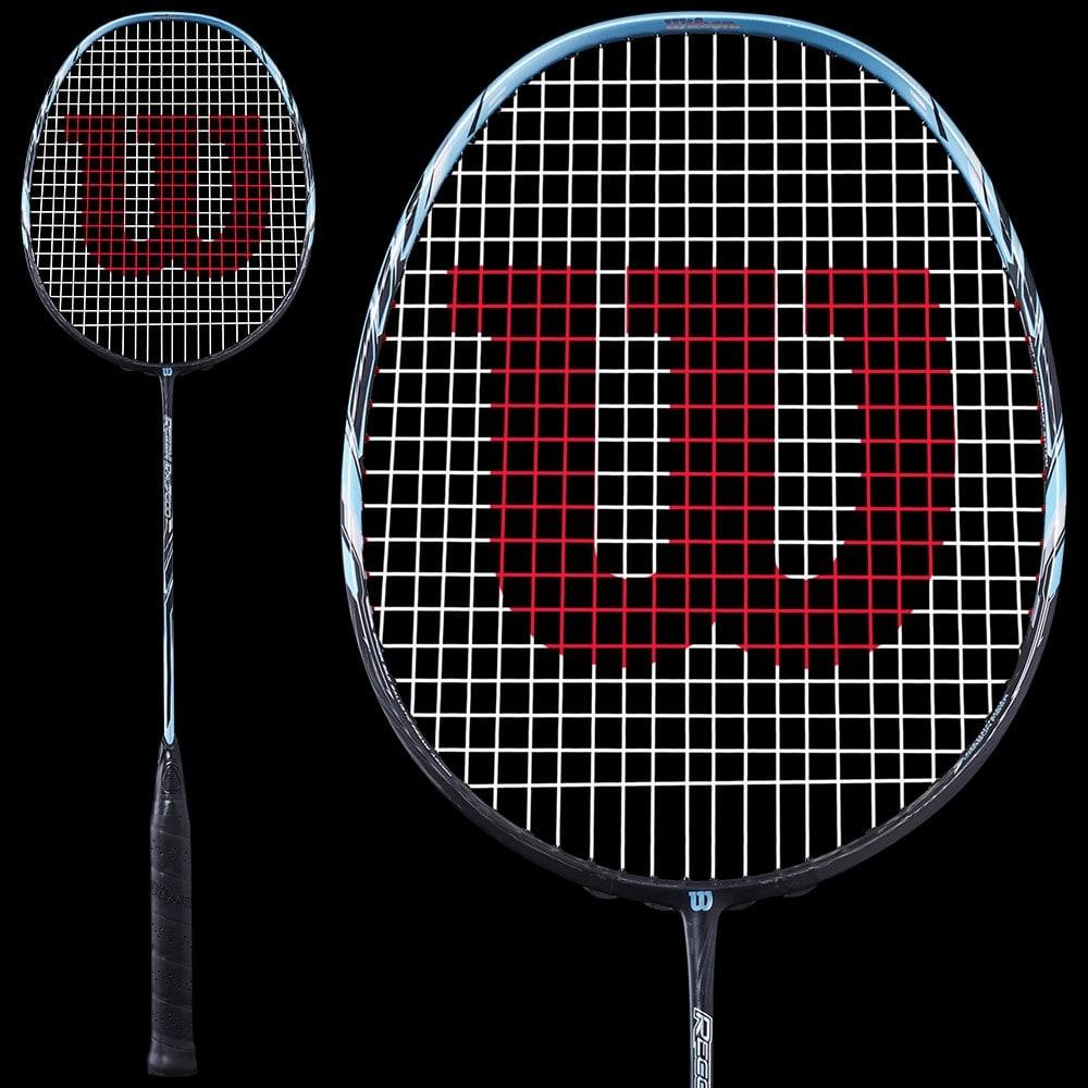 Raquette de badminton Wilson Recon PX7600 - Semi-rigide En tête - 4U 80g - 84g (badmania.fr)