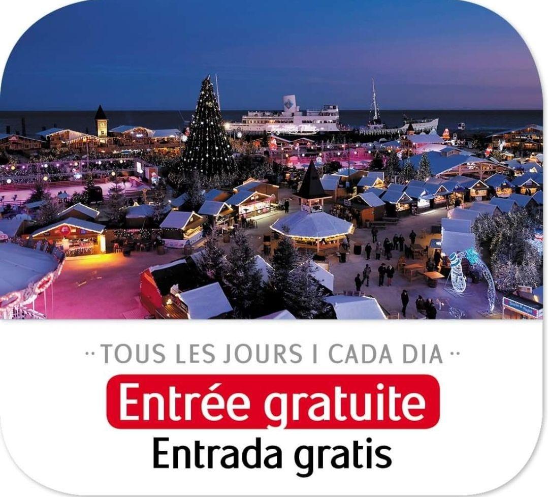 Entrée gratuite au Village de Noël du Barcarès - du 06 au 12 janvier, au Barcarès (66)