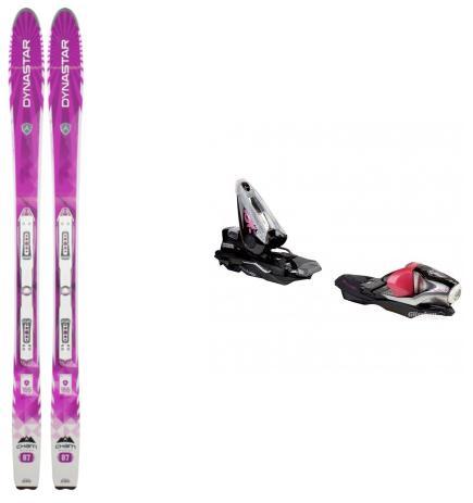 Jusqu'à 55% de réduction sur la gamme cham de Dynastar - Ex : Paire de ski Woman 87 Fluid + fixation
