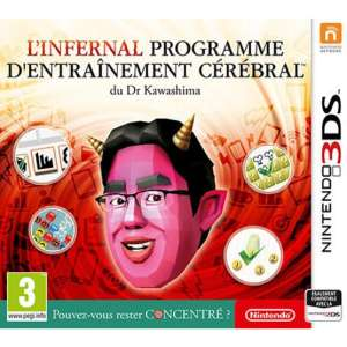 L'infernal programme d'entraînement cérébral du Dr Kawashima sur Nintendo 3DS