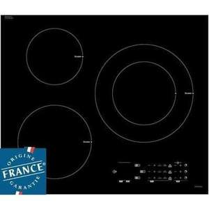 Table de cuisson induction Sauter SPI6300 - 3 zones, 7200 W, 60 x 52 cm