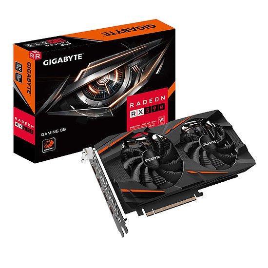 Sélection de cartes graphiques en promotion - Ex: Gigabyte Radeon RX 590 Gaming (Rev 2.0) + 3 mois Xbox Game Pass + Borderlands 3