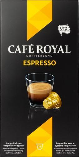 Pack de capsules Café Royal compatibles Nespresso (via BDR)