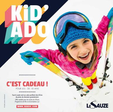 Forfait de ski gratuit pour les moins de 18 ans le 18 & 19 Janvier - Le Sauze (04)