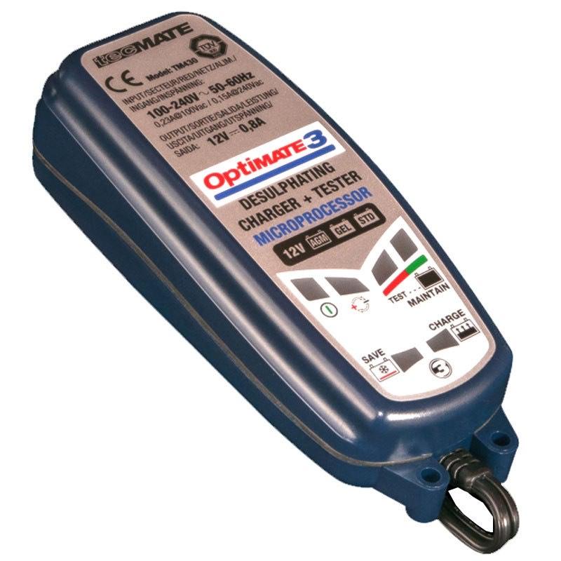 Chargeur de batterie Auto/Moto TecMate Optimate 3