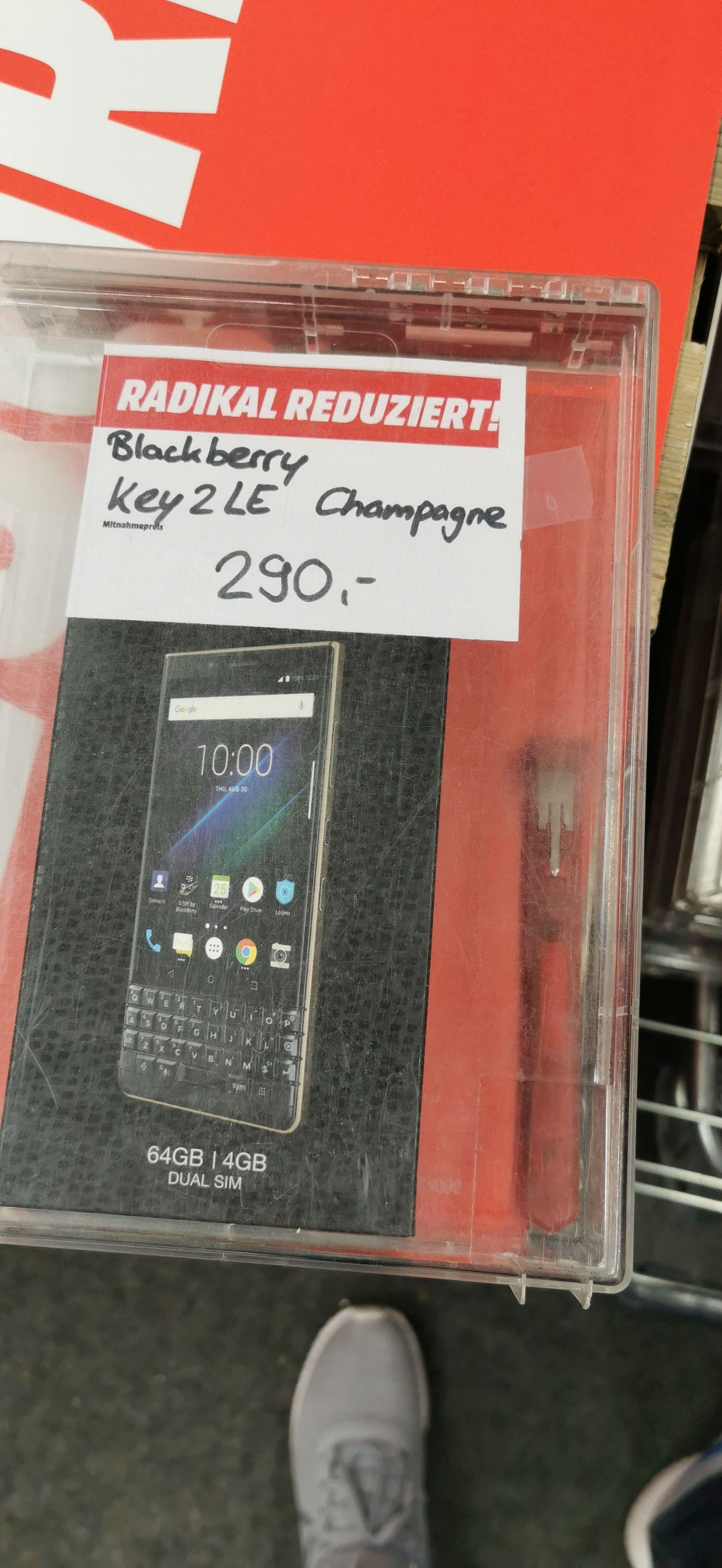 "Smartphone 4.5"" BlackBerry Key2 LE - 4 Go RAM, 64 Go - Mediamarkt Offenbourg (Frontaliers Allemagne)"