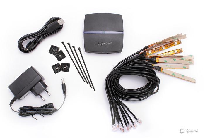 Kit LED d'ambiance Lightpack pour télévision