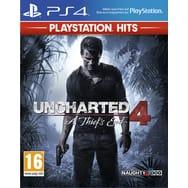 Sélection de jeux PS4 Hits - Ex : Uncharted 4 : A thief's end