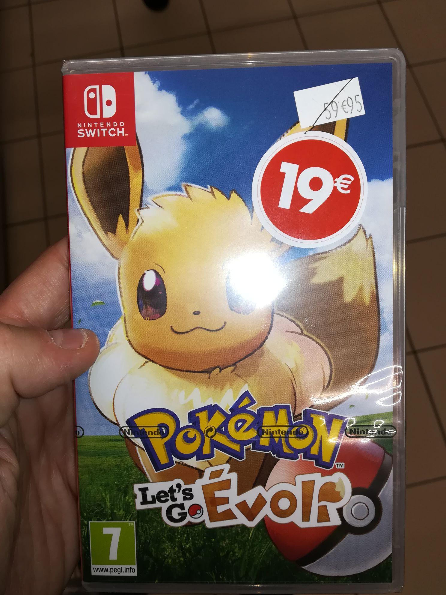 Jeu Pokémon Let's Go Évoli Nintendo Switch