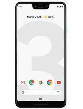 """Smartphone 6.3"""" Google Pixel 3 XL - WQHD+, SnapDragon 845, 4 Go de RAM, 64 Go"""