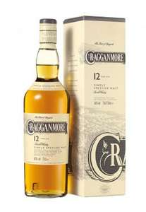 Bouteille de Whisky Cragganmore 12 ans - 70cl