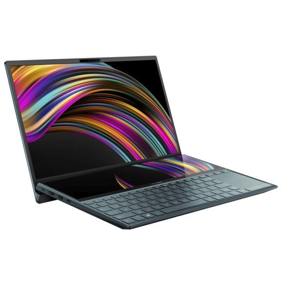 """PC Ultra-Portable Asus Zenbook Duo UX481FA-BM010T 14"""" Intel Core i5, 8 Go RAM, 512 Go SSD"""