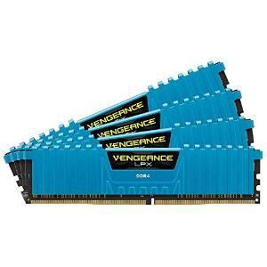 Kit mémoire DDR4 Corsair Vengeance LPX, 16 Go (4 x 4 Go), 2400 MHz, CAS 14