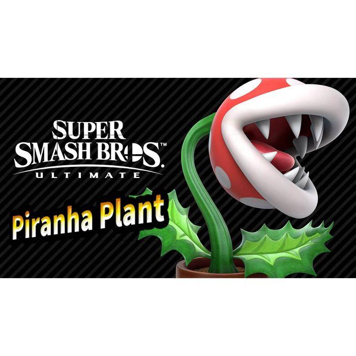 DLC Super Smash Bros. Ultimate: Piranha Plant Fighters Pass sur Nintendo Switch (Dématérialisé - Compte US)