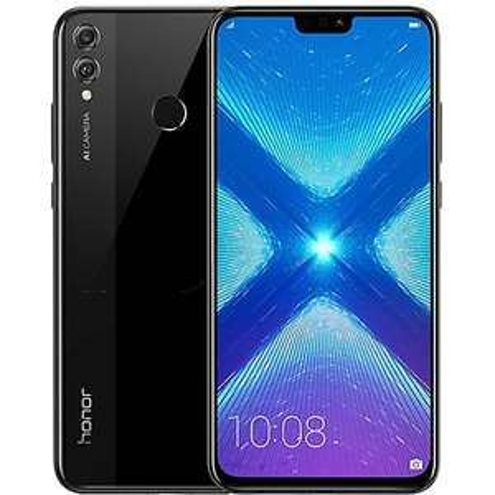 """Smartphone 6.5"""" Honor 8X - Full HD+, Kirin 710, RAM 4 Go, ROM 128 Go (Noir) + Housse"""