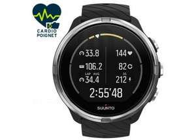 Montre GPS de sport Suunto 9 - Noir