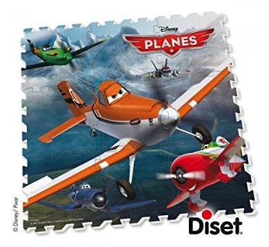 [Panier plus] Puzzle De Sol Mousse Planes Diset 46839