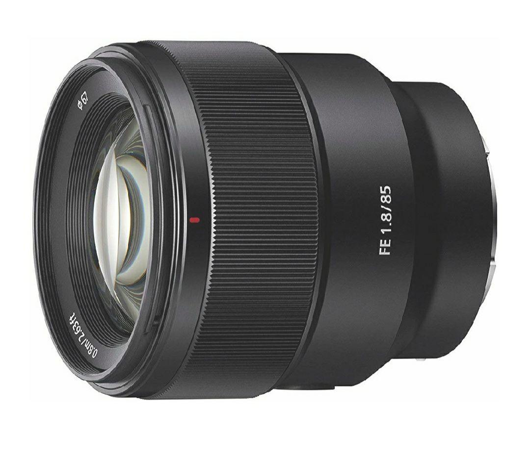 Objectif Sony SEL-85F18 Objectif 85 mm Ouverture F1.8 Plein Format pour Monture E Sony (via ODR 50€)