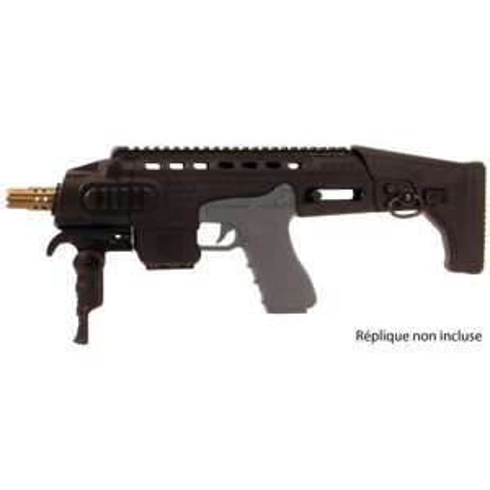 Kit APS Type Micro Rony pour Glock Airsoft - Noir