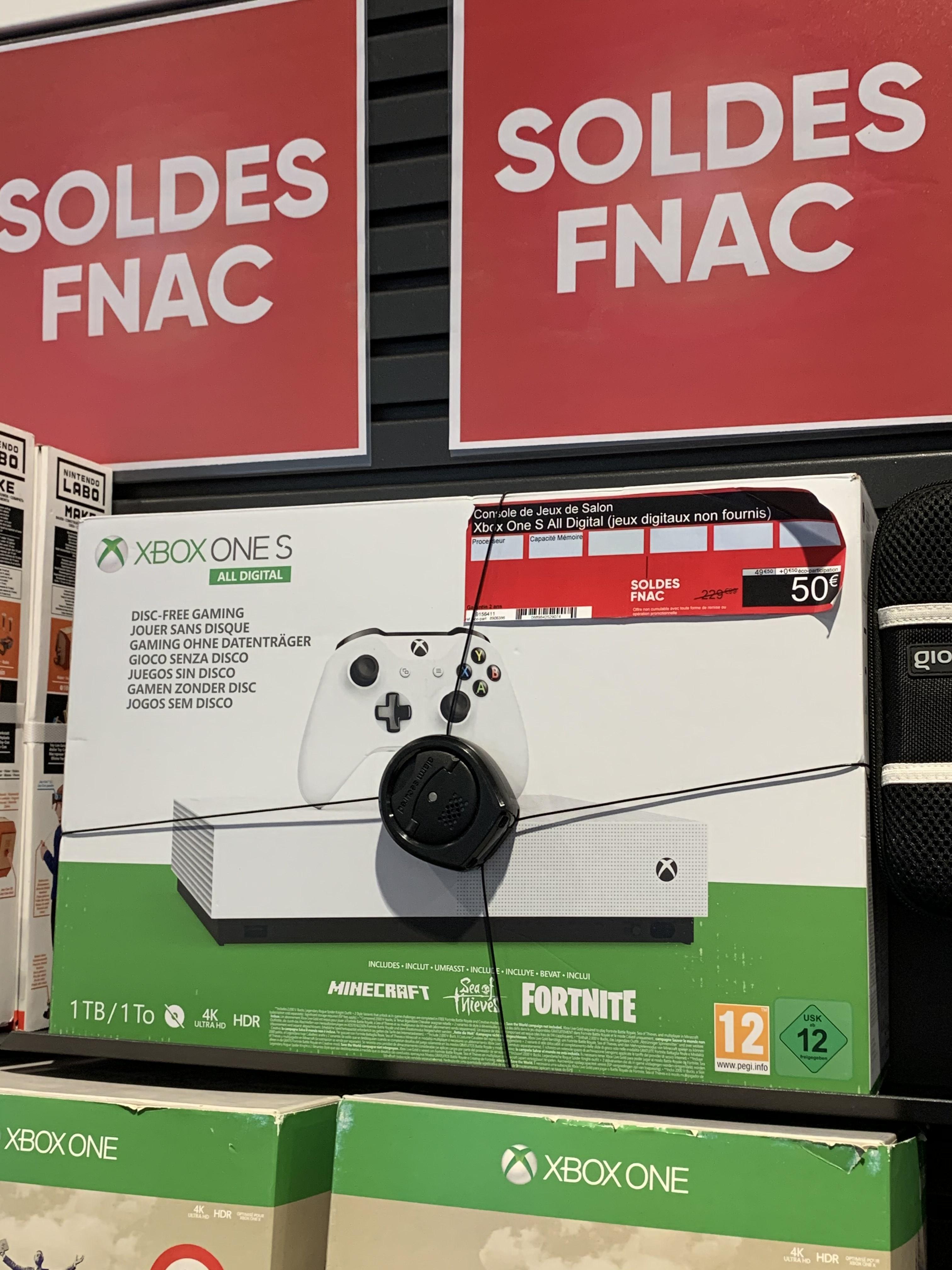 Console Microsoft Xbox One S All Digital (1 To) - Lyon Bellecour (69)