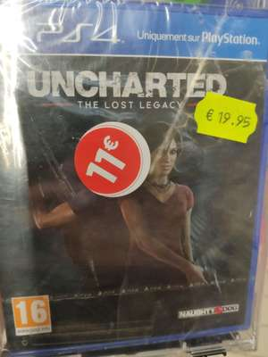 Uncharted: The Lost Legacy sur PS4 - Etampes (91)