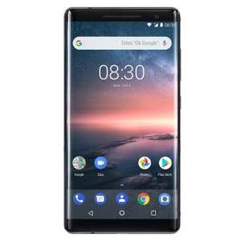 "Smartphone 5.3"" Nokia 8 Sirocco - 128 Go, Noir"