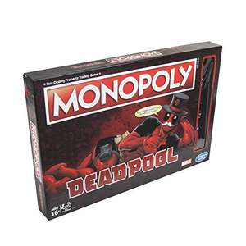 Jeu de société Monopoly Deadpool Marvel Heroes