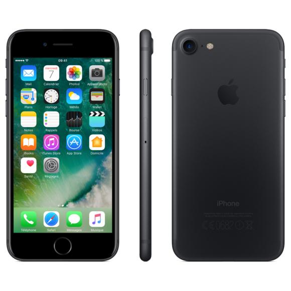 "Smartphone 4.7"" Apple iPhone 7 - 32 Go, Reconditionné"