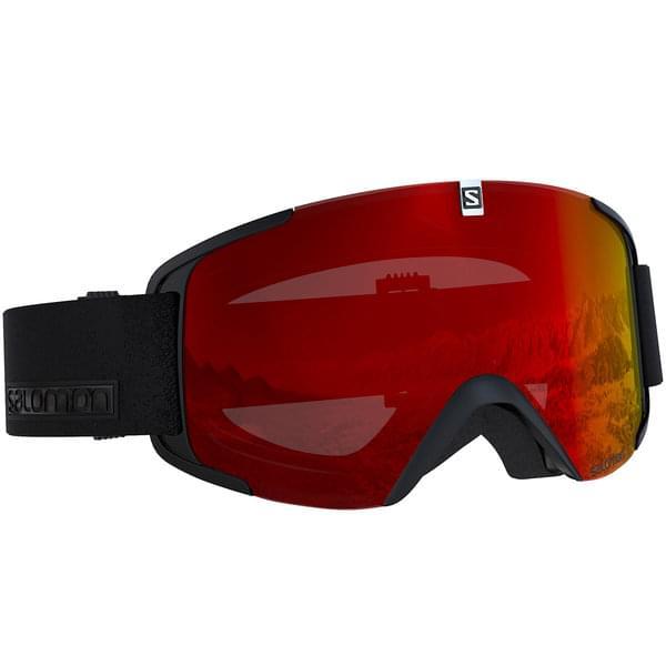 Masque de ski Salomon X View Black
