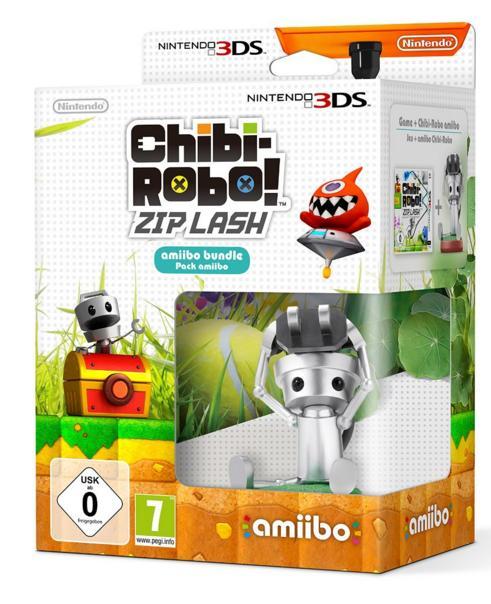 Chibi-Robo! Zip Lash + Amiibo sur Nintendo 3DS