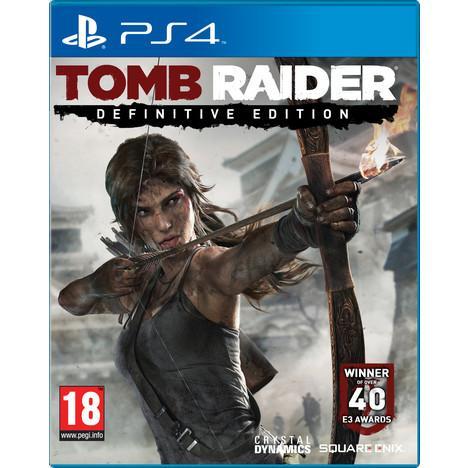 Tomb Raider - Definitive Edition sur PS4