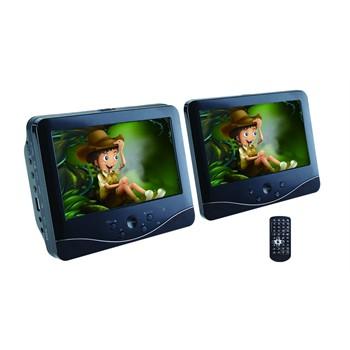 Lecteur DVD & USB pour voiture Norauto Sound NS-163N avec double écran