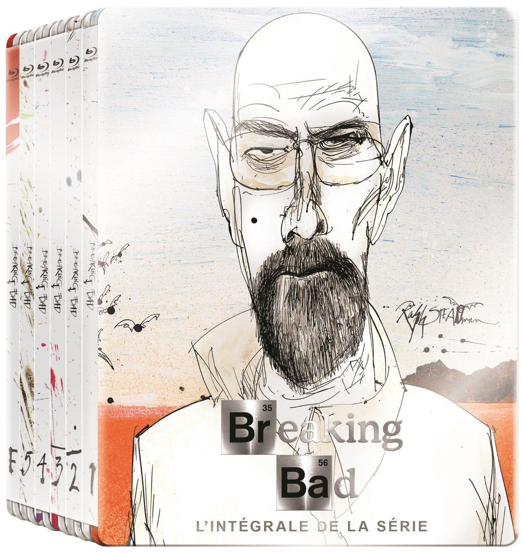 Coffret Blu-Ray Breaking Bad - L'Intégrale en Version Steelbook