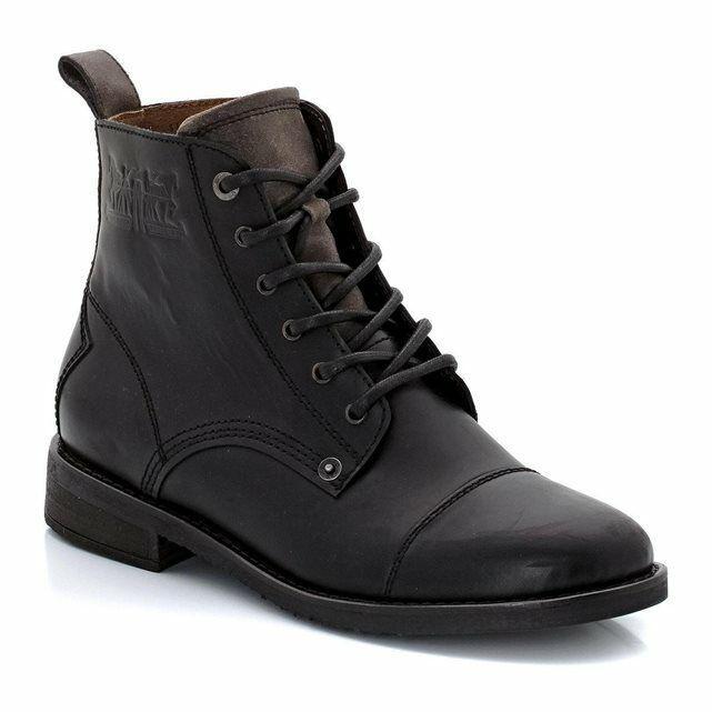 Boots en cuir Levi's homme - Noir et Marron, Taille 39 à 46