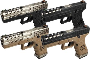 Réplique airsoft Vx01 glock 17 AW custom