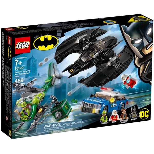 Jouet Lego DC Super Heroes - Le Batwing et le cambriolage de l'Homme-Mystère (76120)