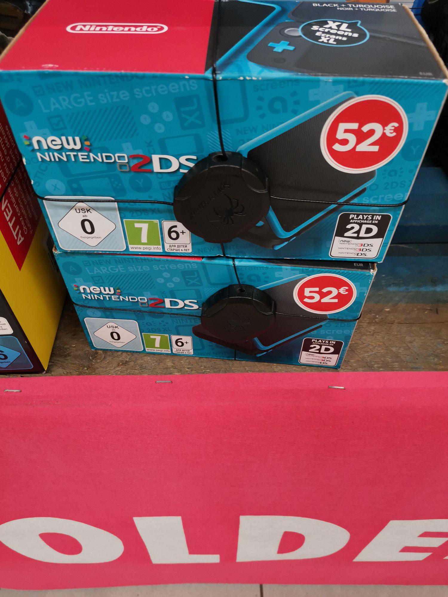 Console portable Nintendo 2DS XL (noir / turquoise) - Saint-Pierre-d'Irube (64)