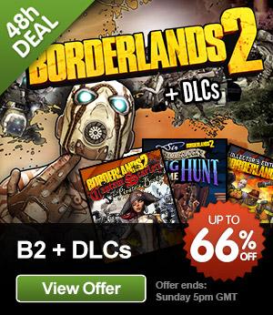 Jeux PC Sega à -75%, Borderlands 2 PC