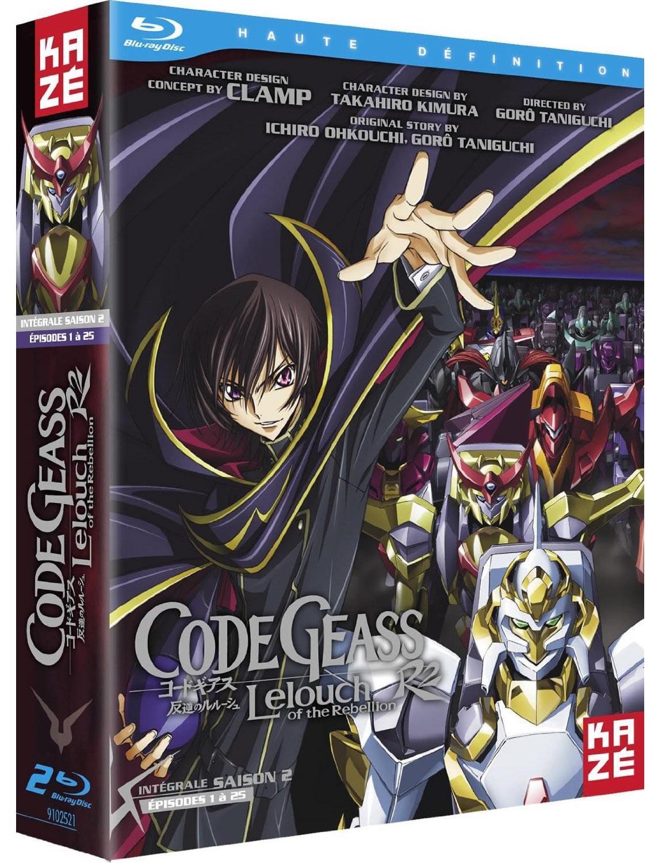 Coffret Blu-ray : Code Geass Intégrale, saisons 1 et 2 séparées