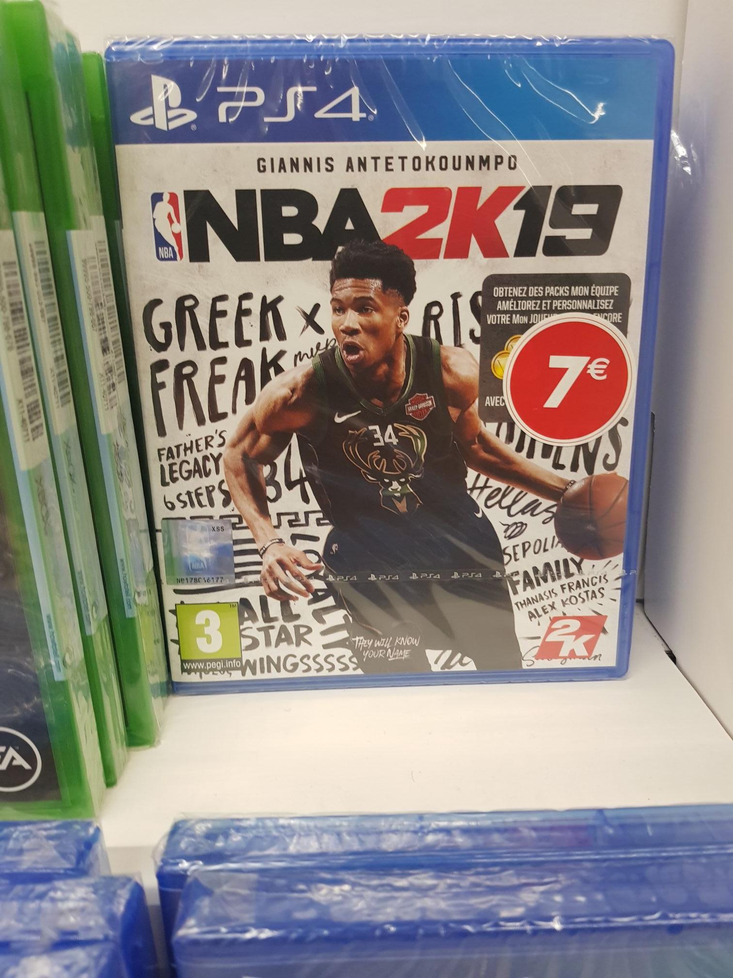 NBA 2K19 sur PS4 (Echirolles 38)