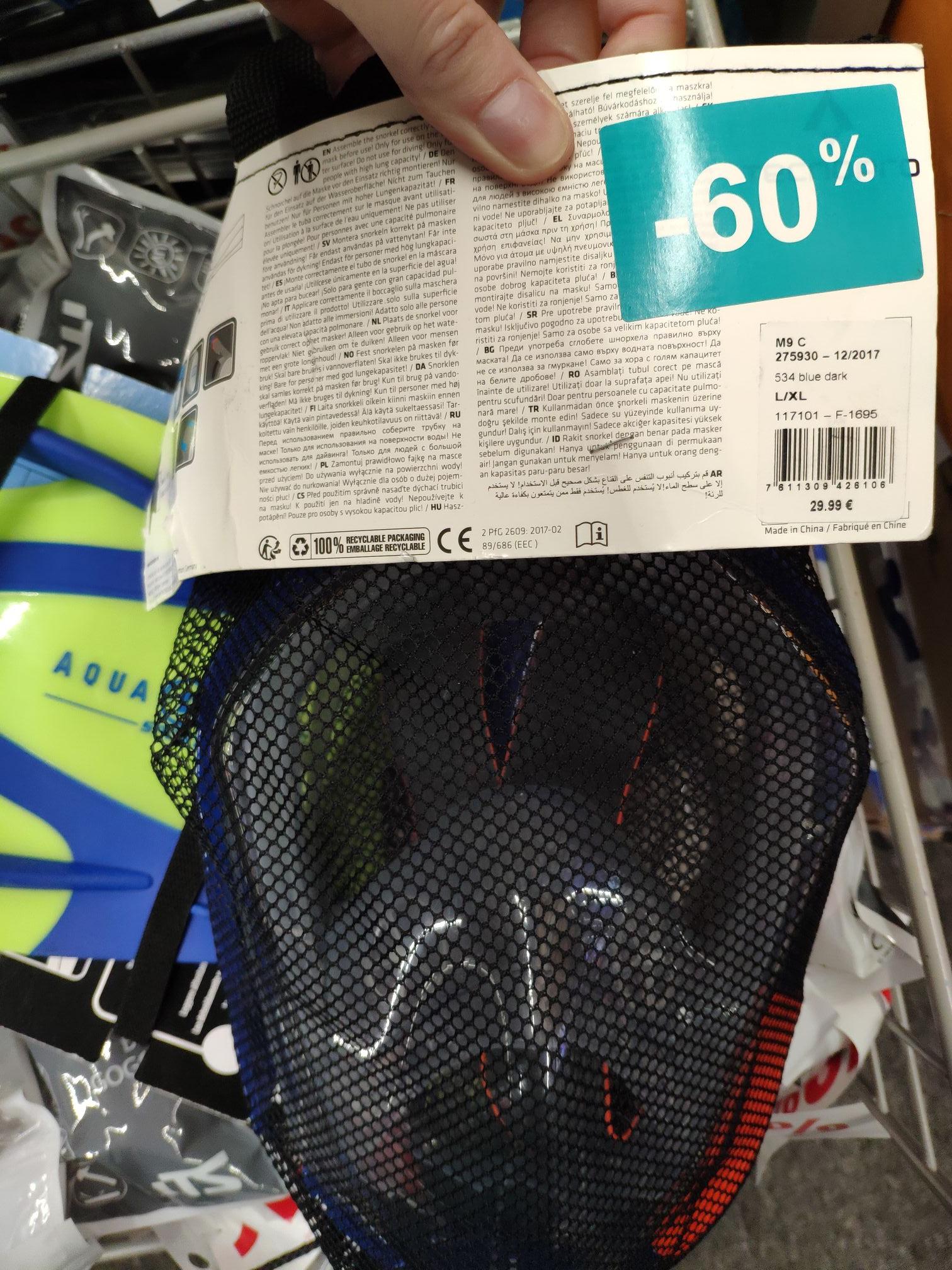 Masque plongée intégral - Agneaux (50)