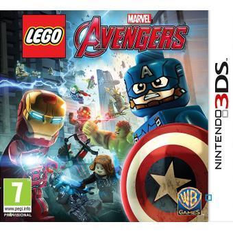 Sélection de jeux 3DS en promo - Ex : Lego Marvel Avengers