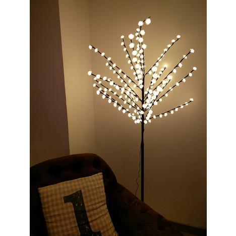 Arbre lumineux artificiel LED forme Rose (2.20€ sur la carte)