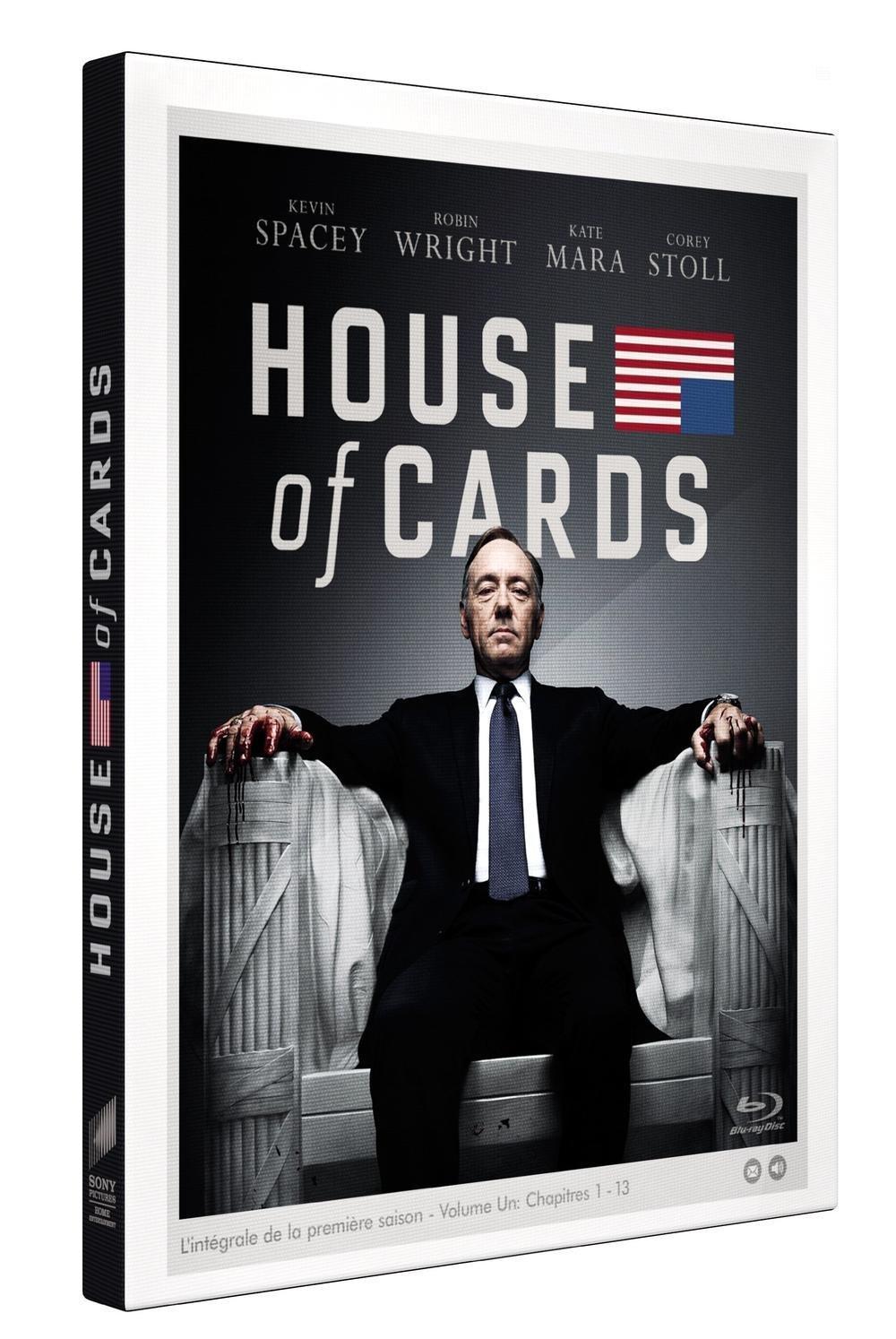 Jusqu'à 72% de réduction sur une sélection de DVD / Blu-ray - Ex : Blu-ray House of cards - Saison 1
