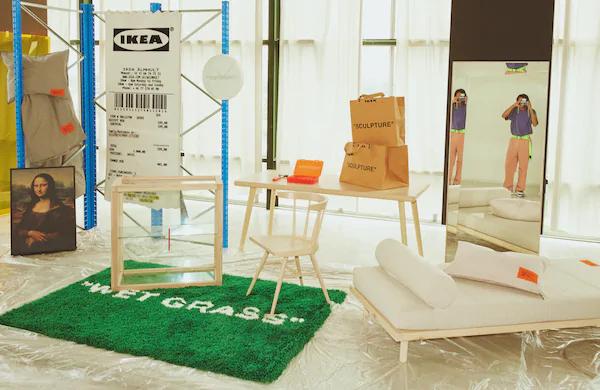 Collection Ikea x Virgil Abloh Markerad en promotion - Ex: Vitrine Markerad - Grand Parilly (69)