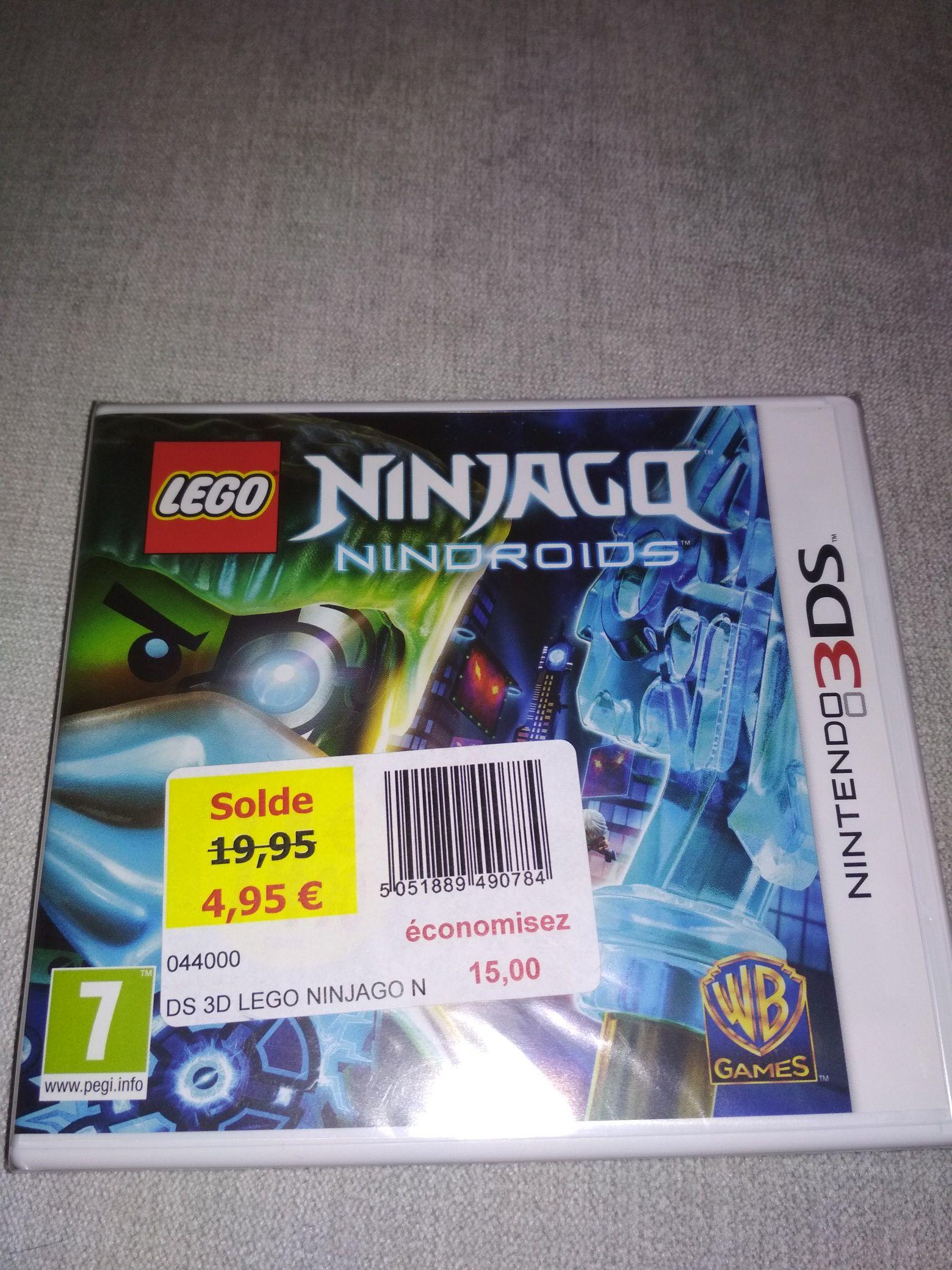 Lego Ninjago Nindroids sur Nintendo 3DS - Saran (45)